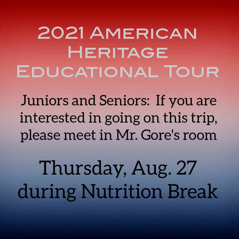 American Heritage Information Meeting