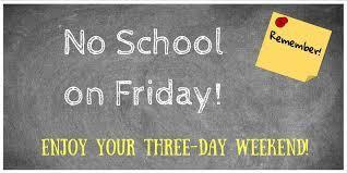 Riverview-No School, Friday, September 25-Teacher's Institute Featured Photo