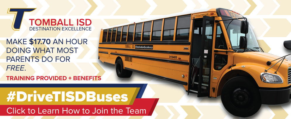 #DriveTISDBuses Learn more about becoming a TISD Bus driver by clicking
