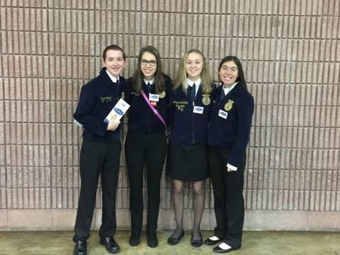 FFA Students at State Conference