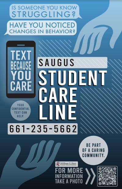 Student Care Tip Line image