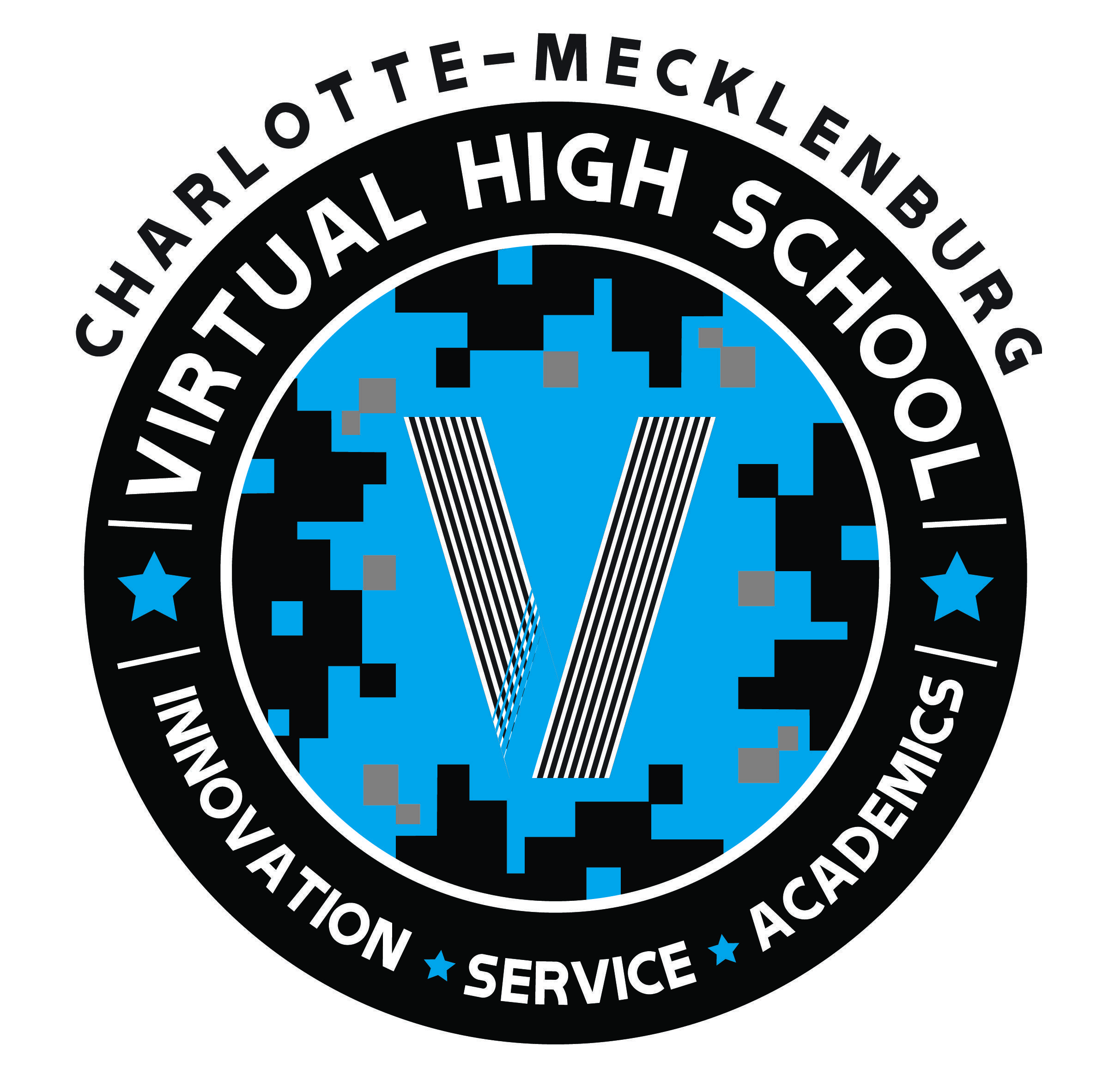 Charlotte Mecklenburg Virtual High School Academic Seal