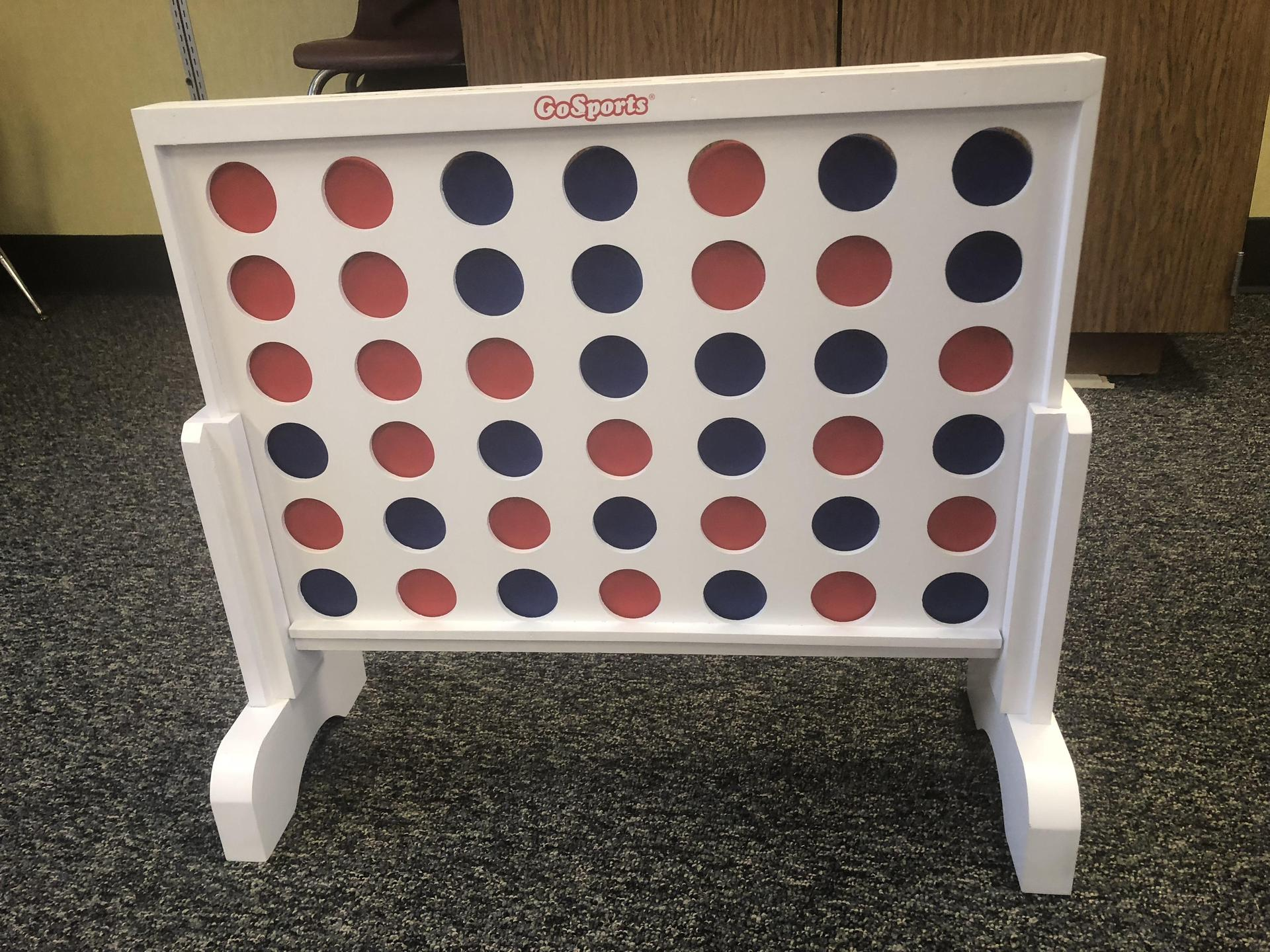 Connect Four is available for students to use.