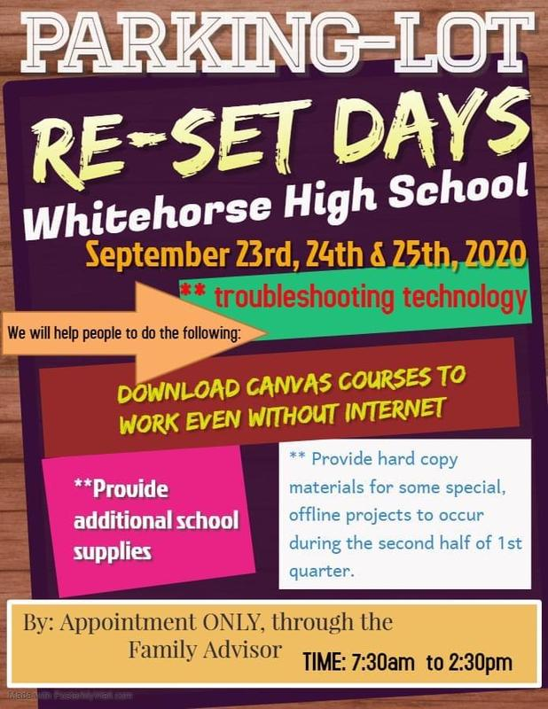 RESET Days are Sept 23-25