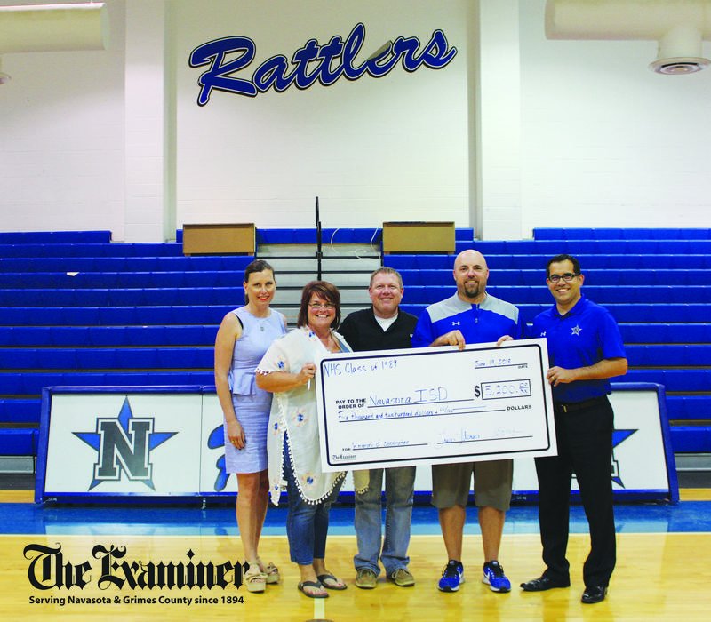 CLASS OF 1989 GIVES BACK TO RATTLER NATION Featured Photo