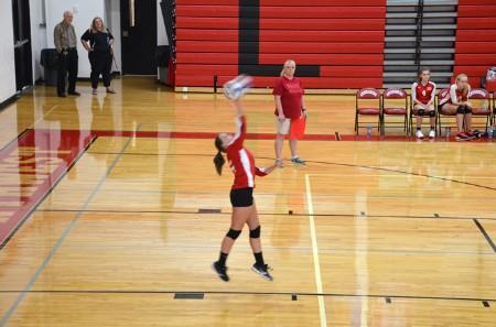 Freshmen Volleyball vs. Lutheran North.