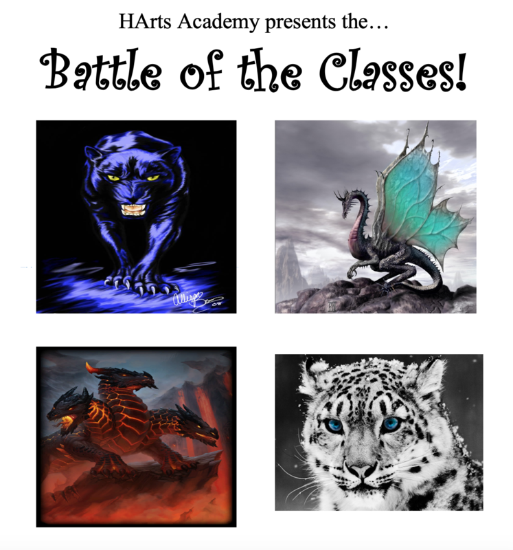 2020 Battle of the Classes Spirit Paintings Thumbnail Image