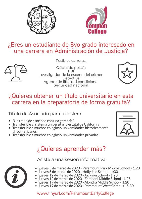 AJ Early College Flyer - Cohort 2 (20-21) - SPANISH.jpg