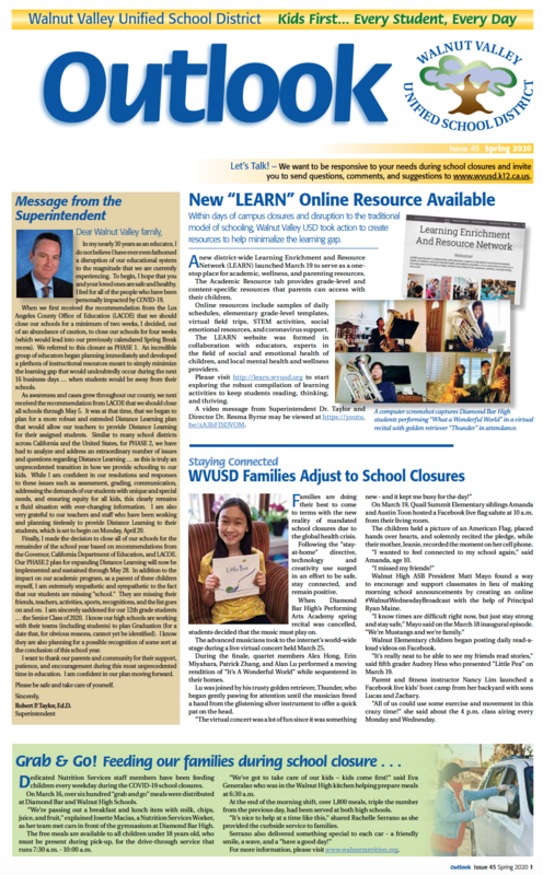 Extra, Extra! Outlook Community Newsletter Featured Photo