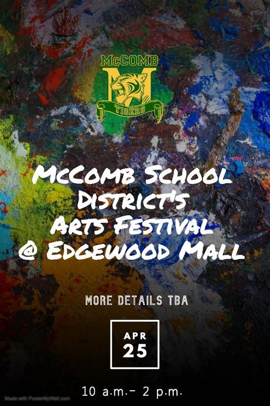 McComb School District Arts Festival 2020  Save The Date! April 25, 2020 10 a.m. - 2 p.m.  #ItsComeBackTime