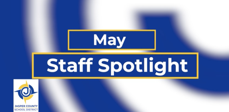 May 2021 Staff Spotlight Featured Photo