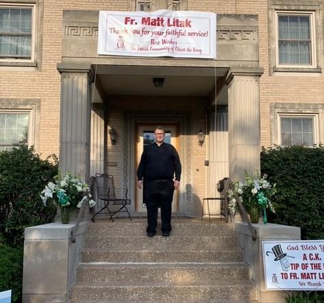 Farewell to Fr. Matt Featured Photo