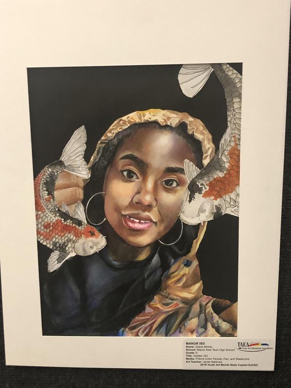 MNTHS Student Grace Minnix's artwork.