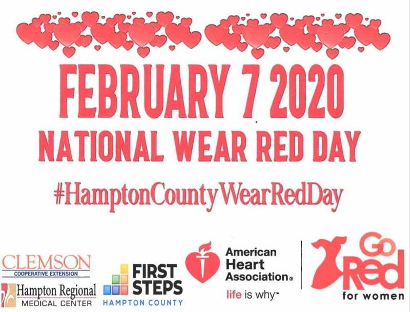 National Wear Red Day - February 7, 2020
