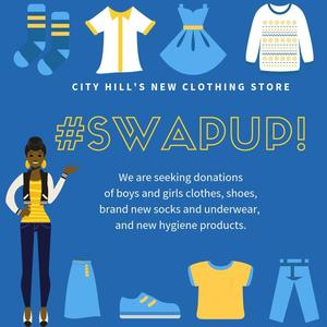 City Hill's new clothing store #SwapUp!