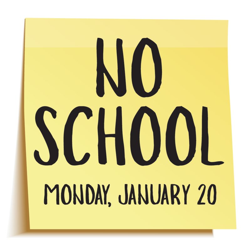 No School Monday, January 20 Thumbnail Image