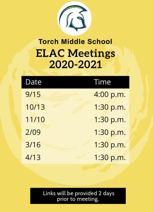 ELAC Calendar 202-2021
