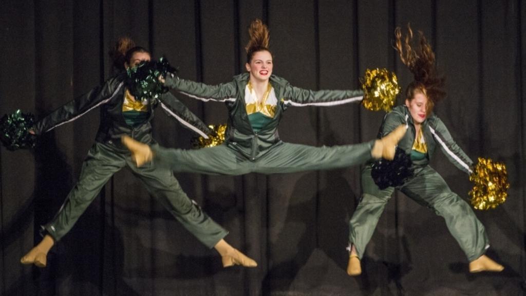 Dance Team action shot