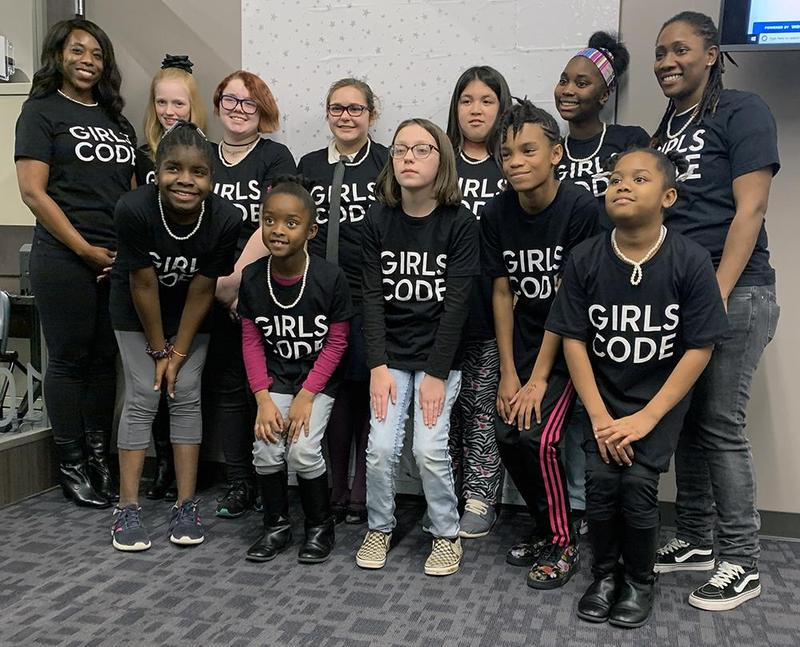Girls Who Code graduates