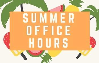 Summer Office Hours Thumbnail Image