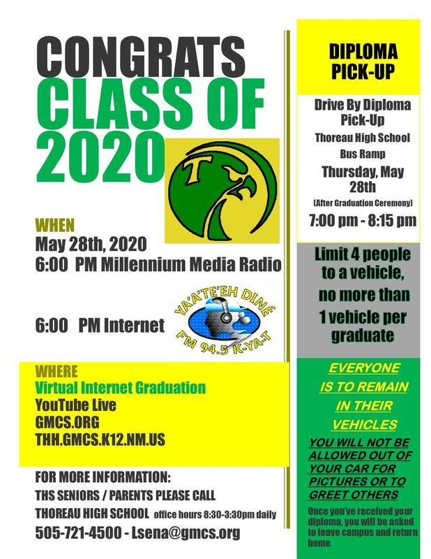 ATTENTION; CLASS OF 2020 GRADUATES Featured Photo