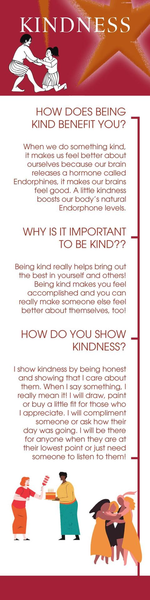 Bookmark for Kindness Week