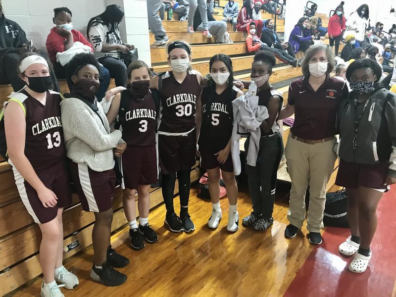 Clarkdale 7th Grade Girls' Basketball Team