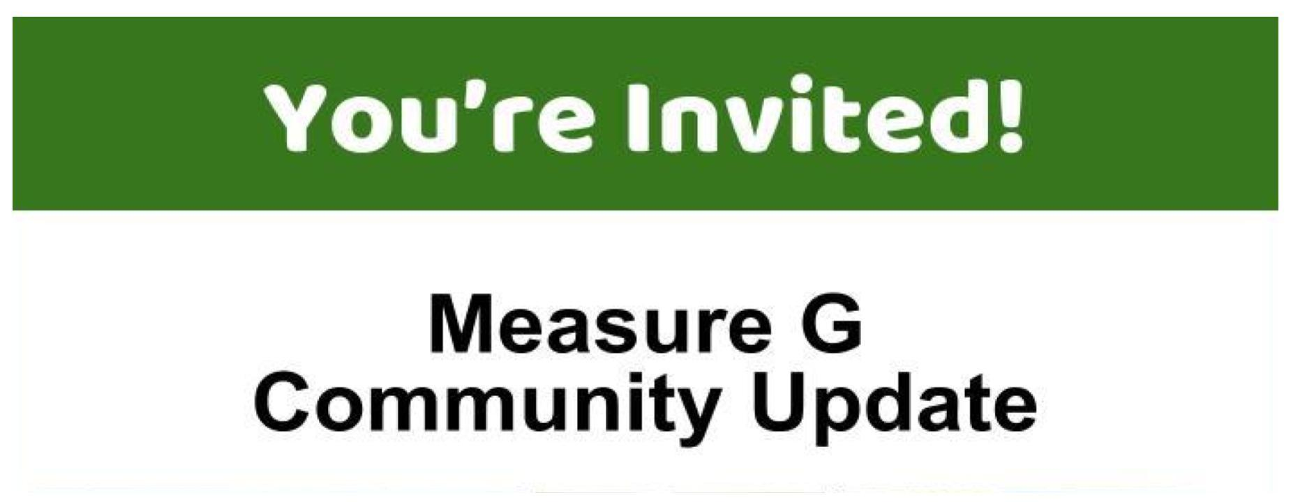 measure g community update information
