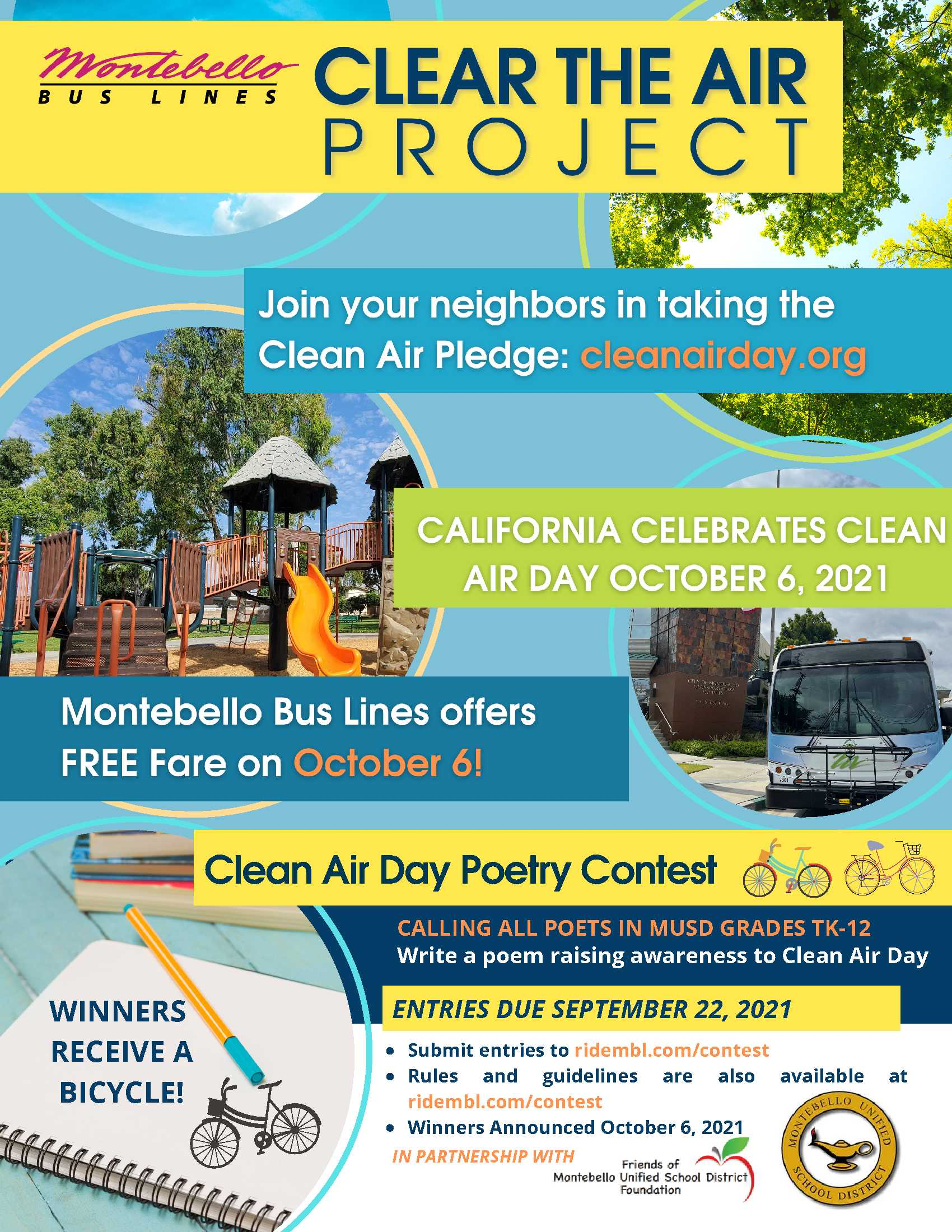 Clean Air Day Poetry Contest