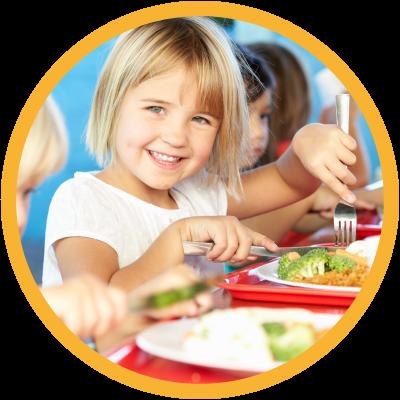 CDE- Girl Eating Lunch
