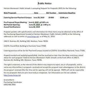 Public Notice - Catering Bid 2019.JPG