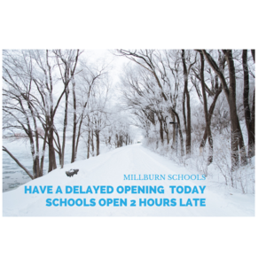 SNOWY PICTURE -DELAYED OPENING GRAPHIC