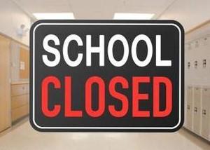 school closed message