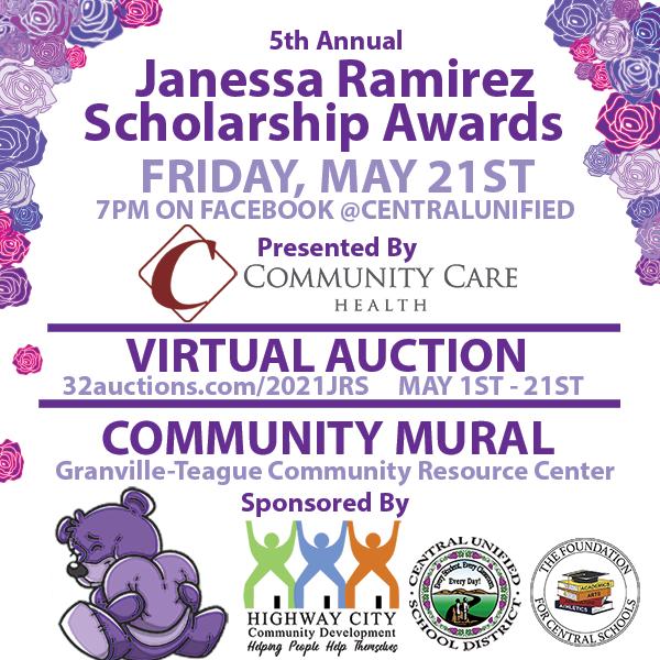 5th Annual Janessa Ramirez Scholarship Awards