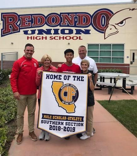 Congratulations to Sangjun Lee- CIF Scholar Athlete of the Year! Featured Photo