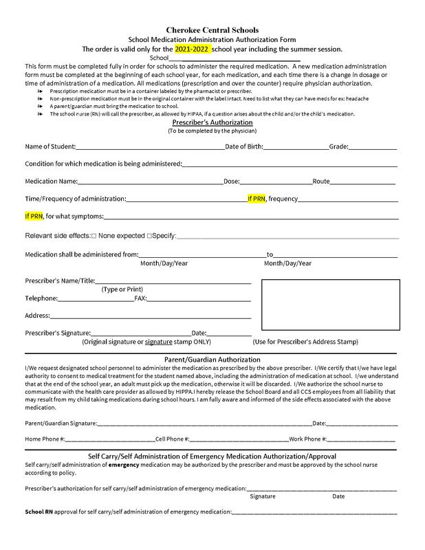 CCS_Medication_Authorization_form