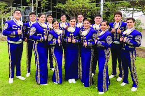 McAllen High Mariachi Oro students