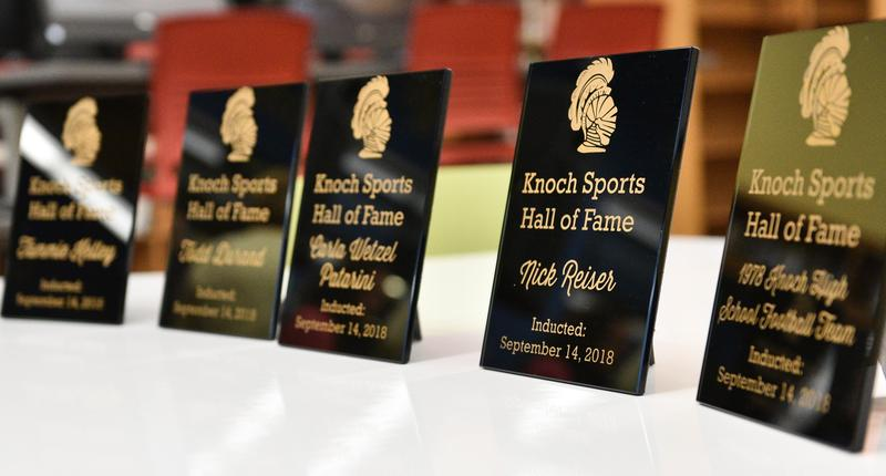 Pic of Hall of Fame plaques