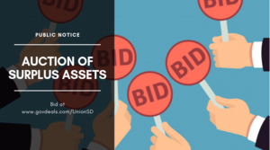 Public Notice: Auction of Surplus Assets