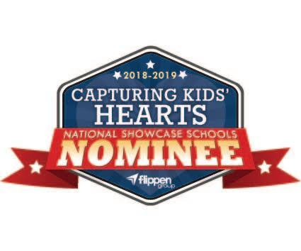 Capturing Kids Hearts Nominee logo