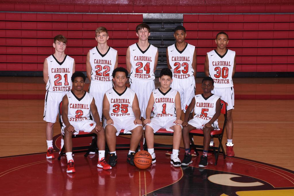 Freshman 2019-2020 Basketball Team