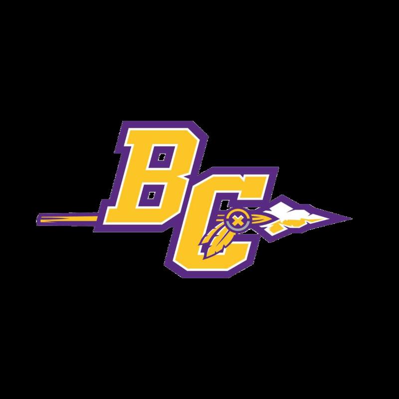 Bibb County High School Football BC Spear Logo