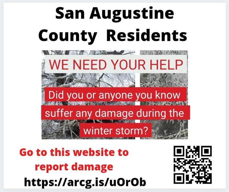 County Disaster Declaration Public Notice
