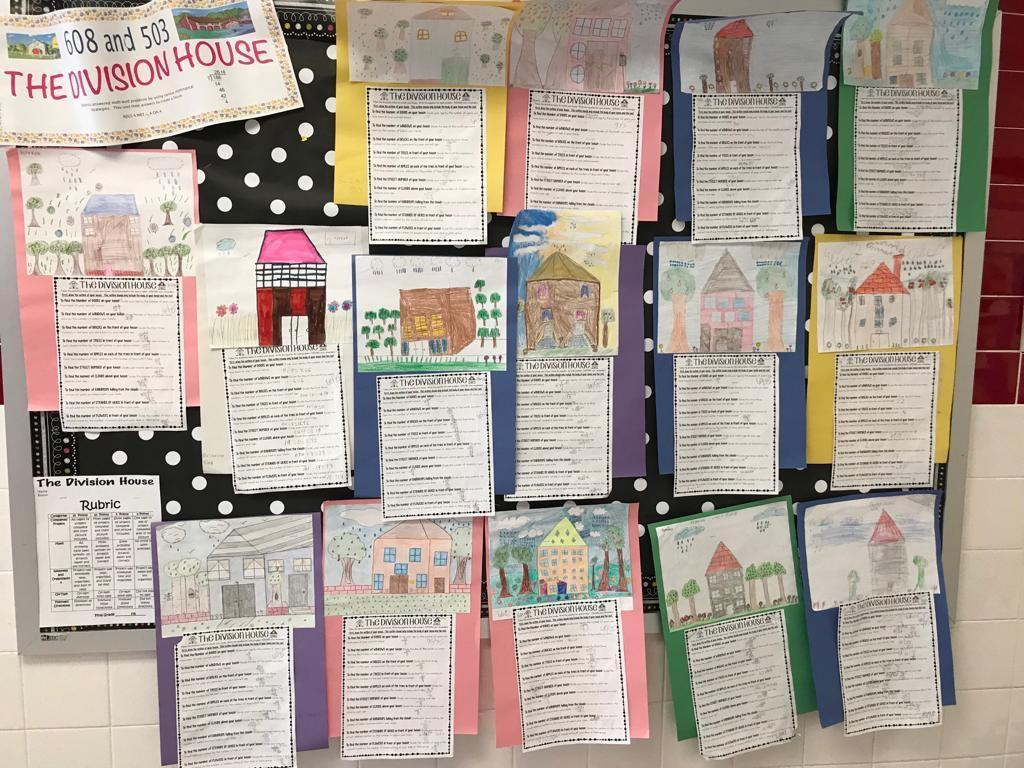 the division house math activity display