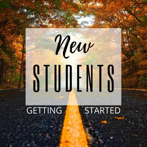 New Students | Getting Started