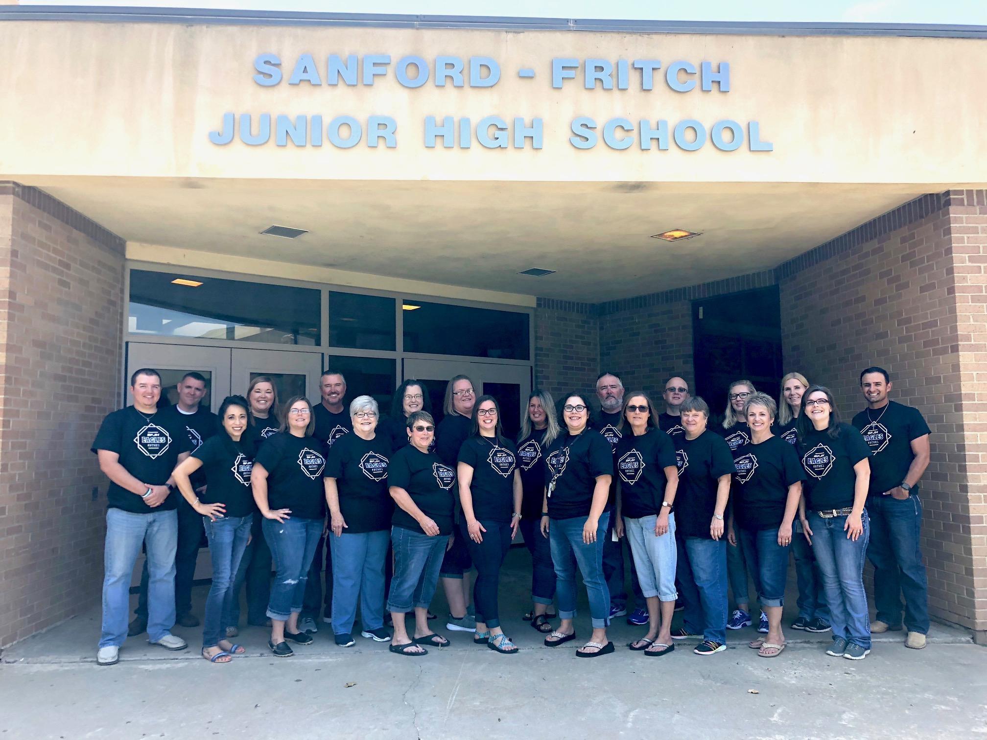 SFJH Staff 2018-2019