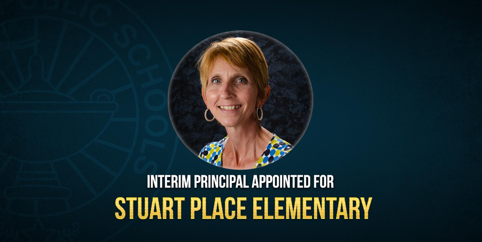 Photo of interim principal for Stuart place elementary