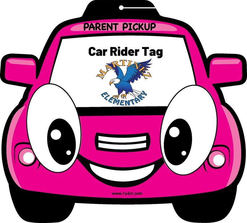 Car Rider Tag