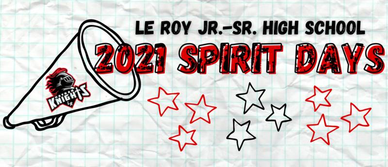 Le Roy Jr.-Sr. High School Spirit Days 2021