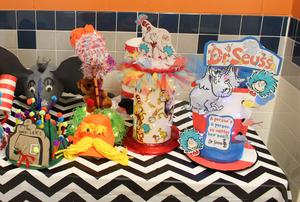 picture of Dr. Seuss hats